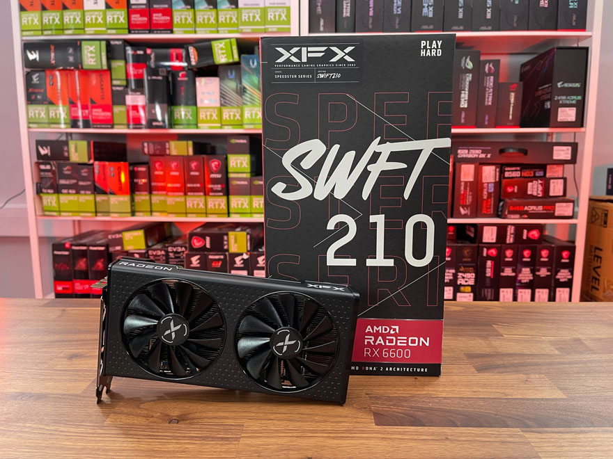 XFX RX 6600 SWFT 210 Graphics Card Review
